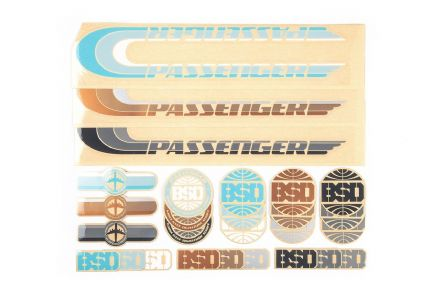 BSD Sticker Pack - Passenger Frame 2018